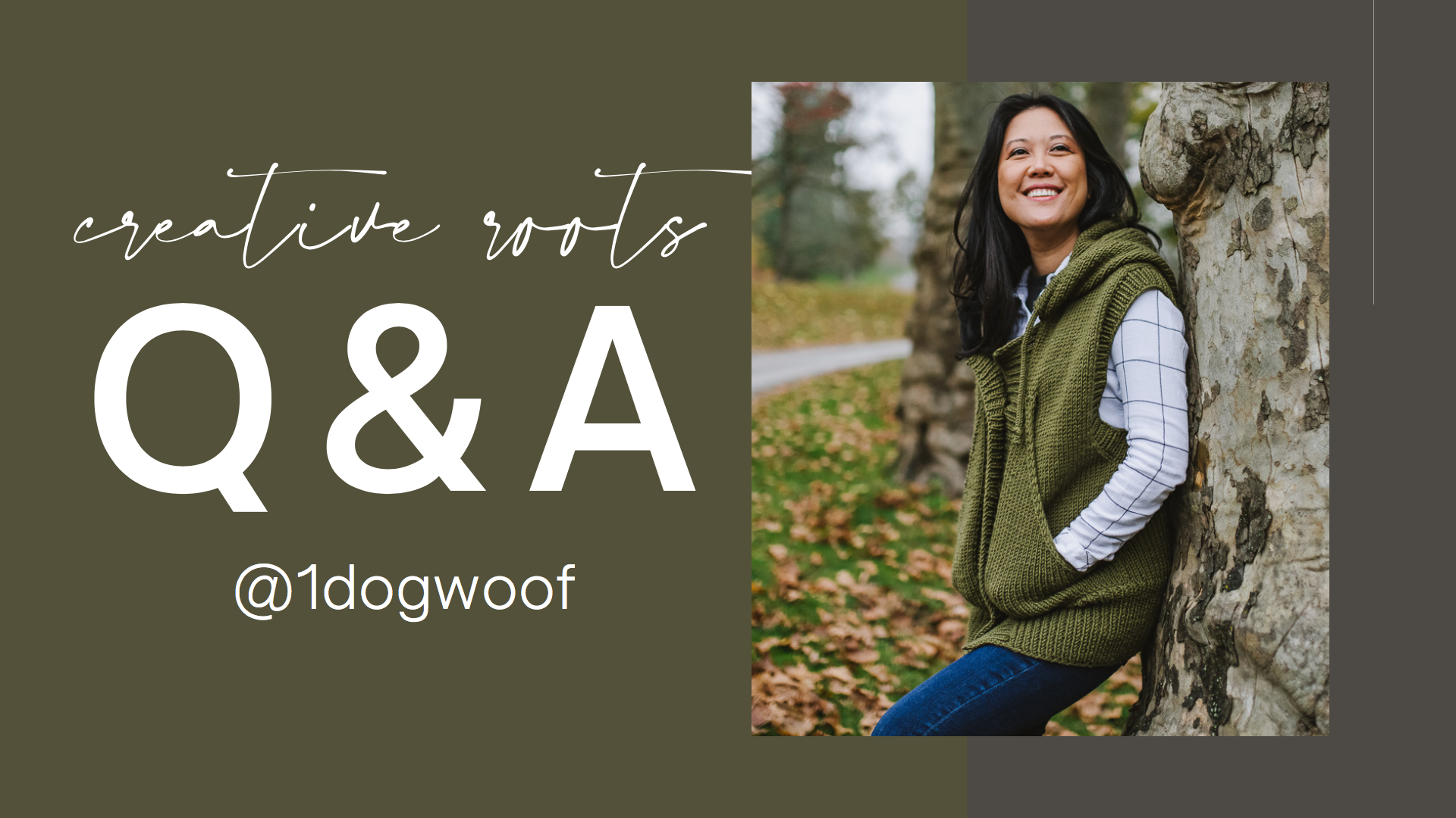 One Dog Woof Creative Roots Challenge Maker Q&A