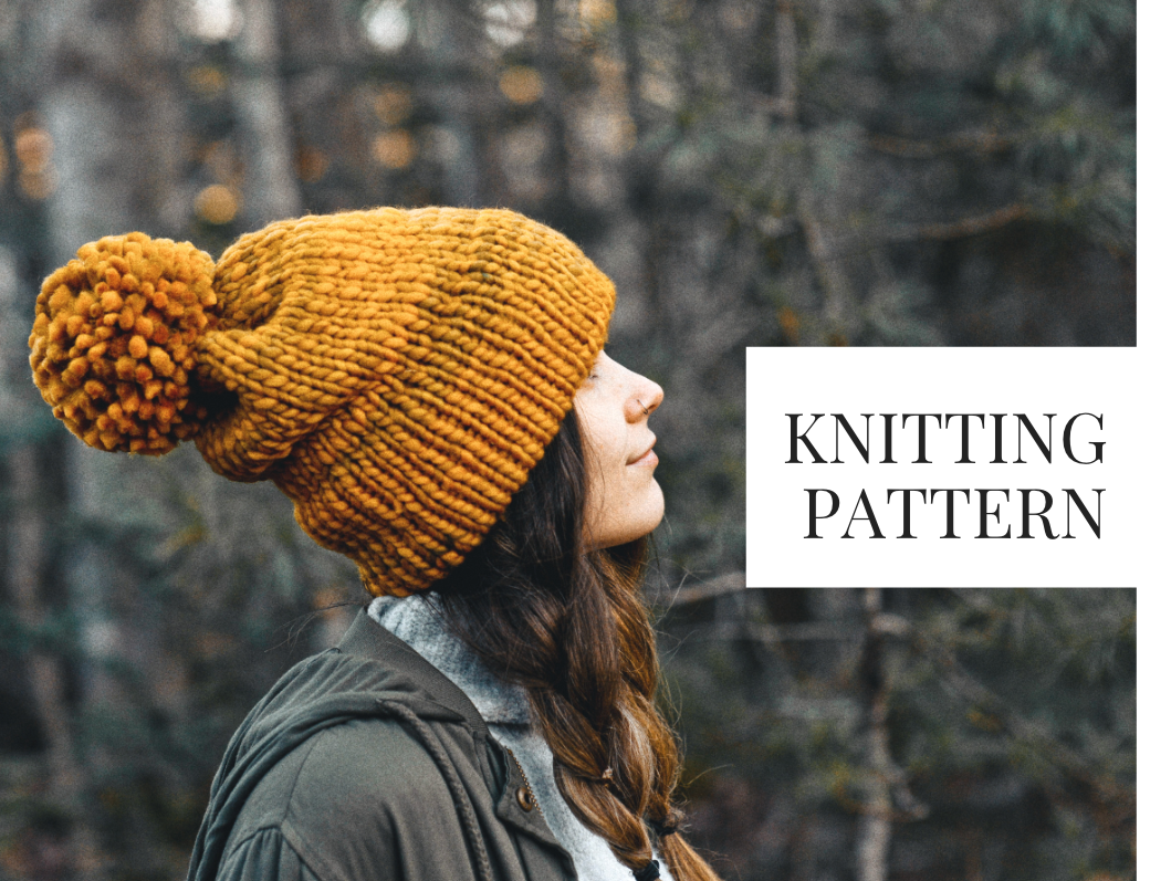 Knit Pattern: Forever October Slouch