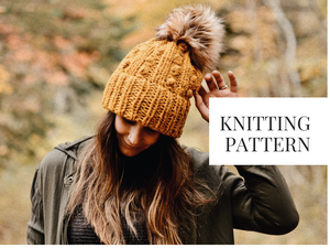 Knit Pattern: Summerville Trail Beanie