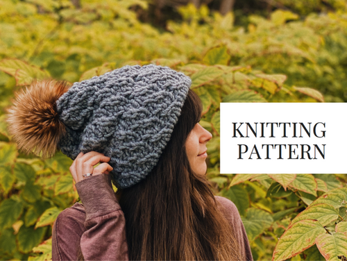 Knit Pattern: Trestle Trail Slouch