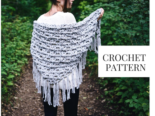 Crochet Pattern: Spruce Grove Wrap