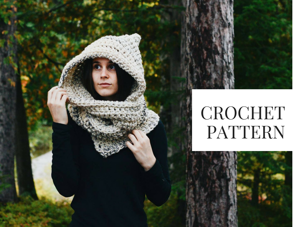 Crochet Hooded Scarf Pattern Amazing Inspiration