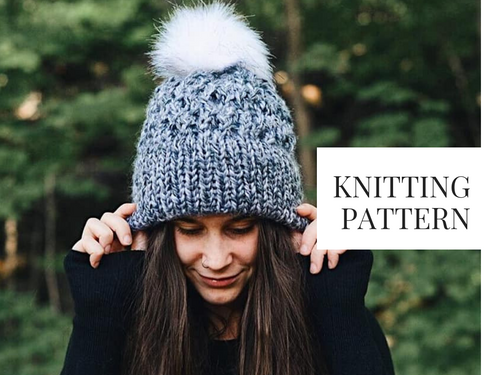 Knit Pattern: Sparrow Lake Beanie
