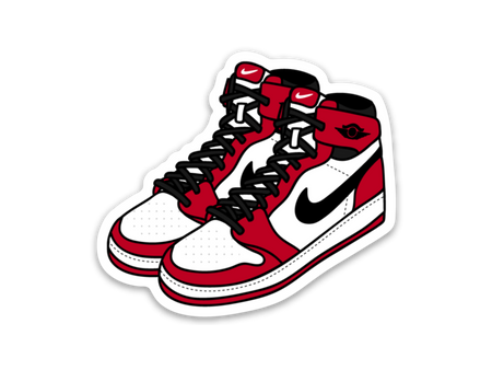 Air Jordan 1 Sticker