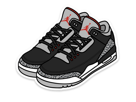 Air Jordan 3 Sticker