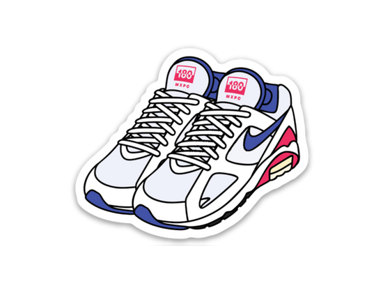 Air Max 180 Sticker