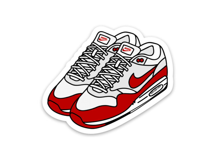Air Max 1 Sticker