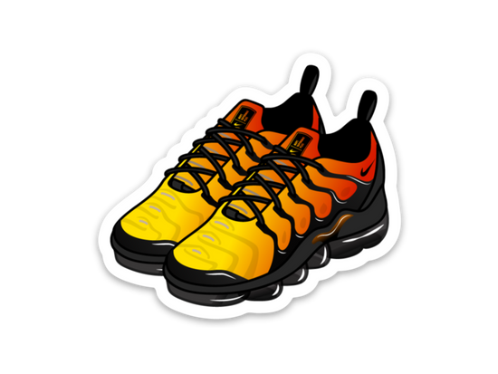 Air Max Vapormax Plus Sticker