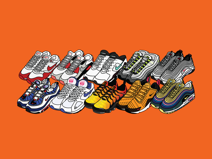 Air Max Sticker Pack