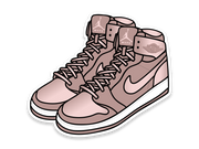 Jordan 1 Season of Her Sticker