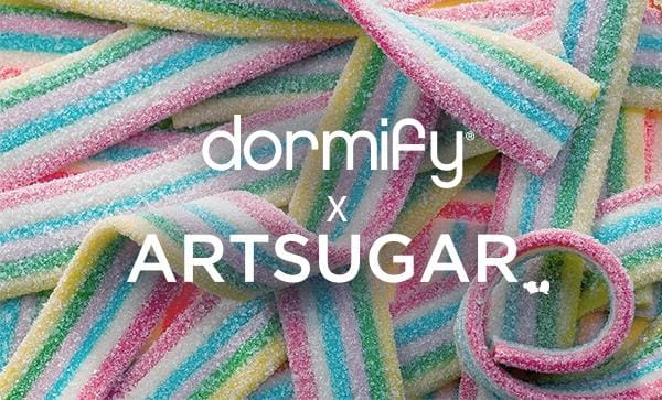 ArtSugar teams up with Dormify!