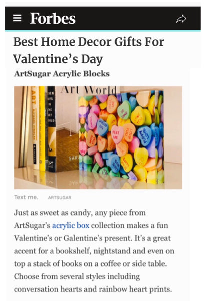 Love Blocks in Forbes