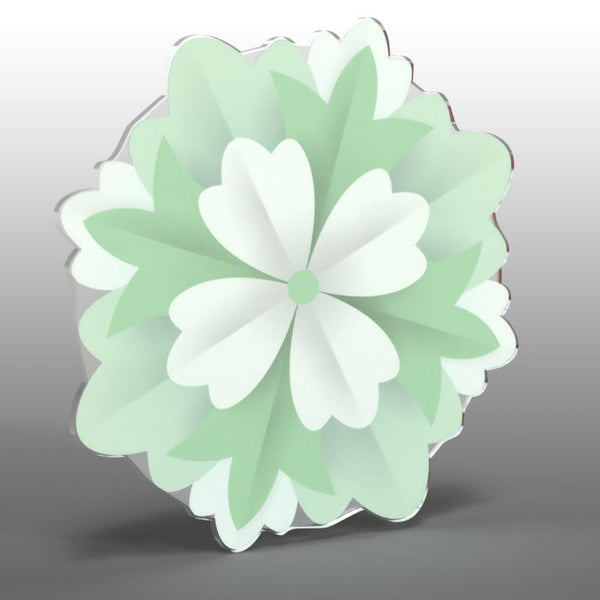 Acrylic Hanging Carnation - 12 inch - Acrylic Mountable Shapes