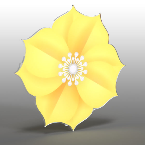 Acrylic Hanging Daffodil - Acrylic Mountable Shapes
