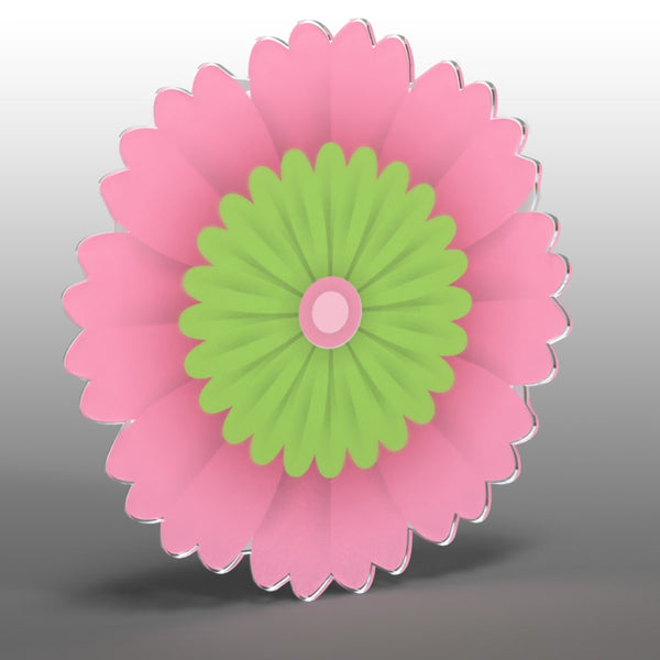 Acrylic Hanging Gerbera Daisy - Acrylic Mountable Shapes