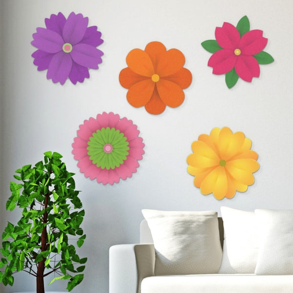 Acrylic Hanging Pansy - Acrylic Mountable Shapes