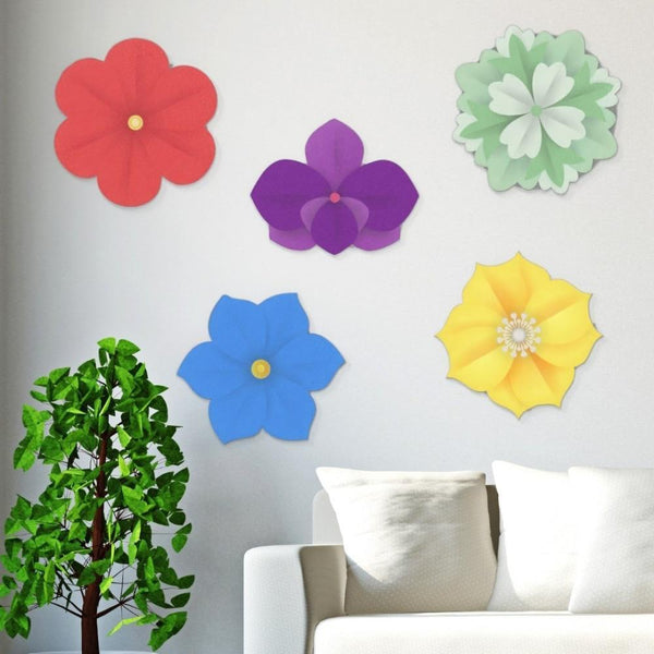 Acrylic Hanging Poppy - Acrylic Mountable Shapes