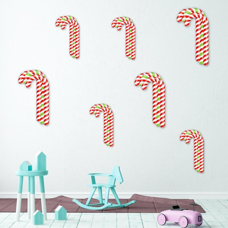 Acrylic Mountable Candy Cane Cluster