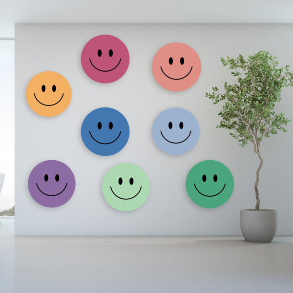 Acrylic Mountable Smilies Our Solid Colors - Acrylic Mountable Shapes