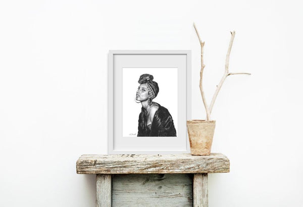 Alicia Keys - Limited Edition Print