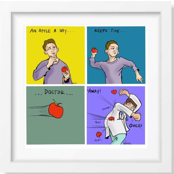 An Apple A Day - Limited Edition Print