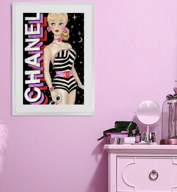 Barbie - Limited Edition Print