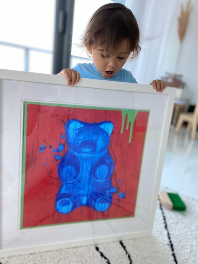 Bluebeary - Limited Edition Print