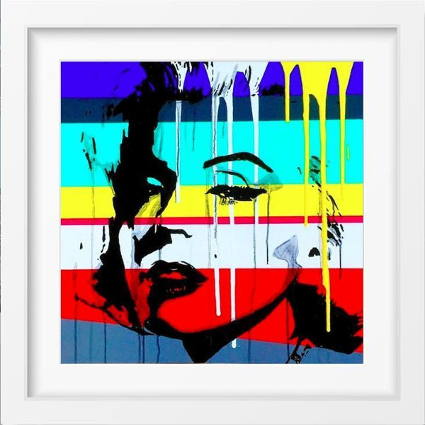 BOMBSHELL - 14x14 / White Frame / Buy - Limited Edition Print