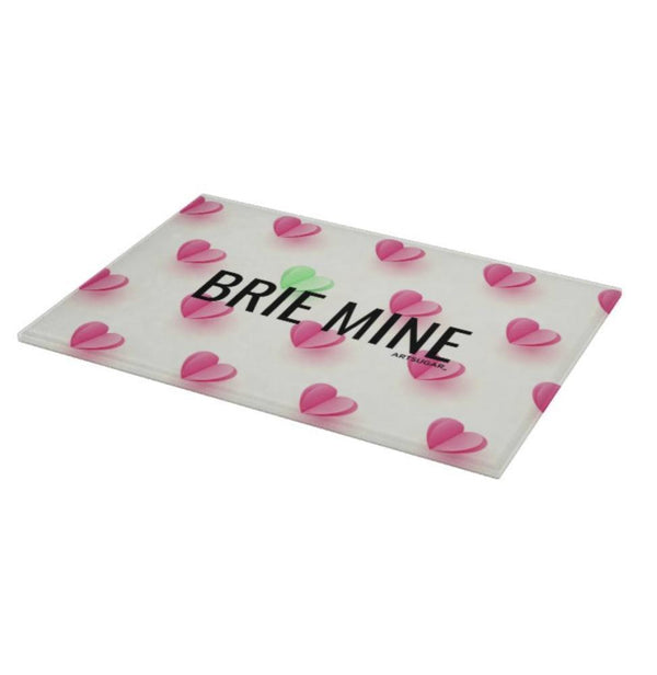 Brie Mine Glass Cutting Board - 8x11 inch - Cutting Board