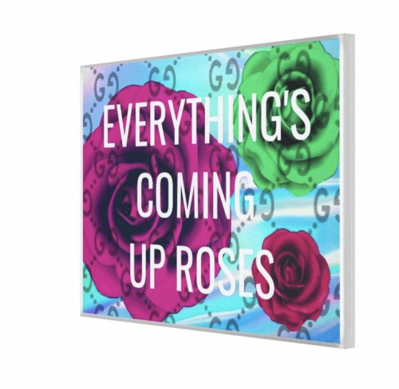 Coming Up Roses - Canvas