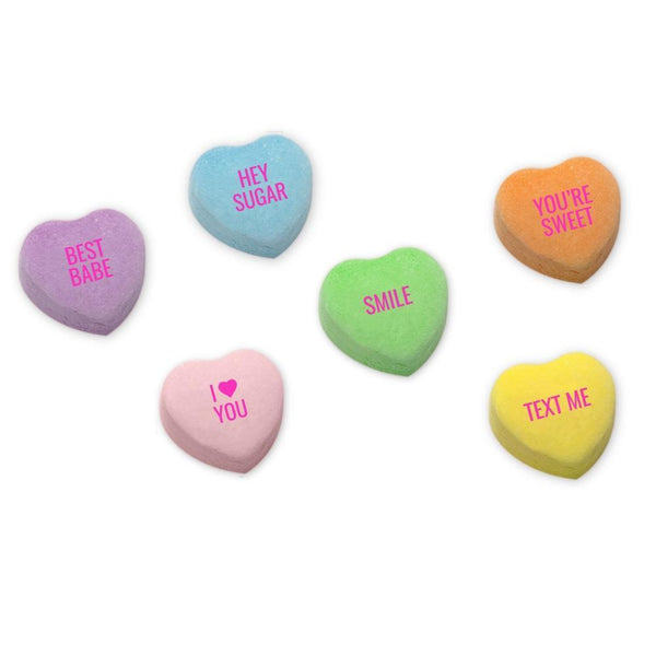 Conversation Hearts - The Full Set - 10 inches