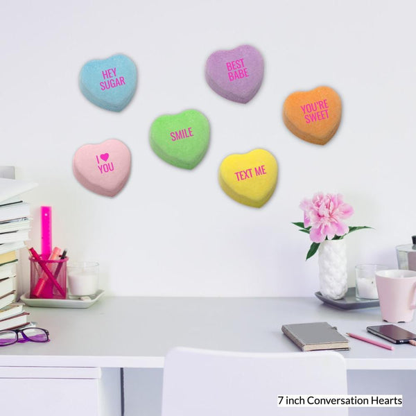 Conversation Hearts - The Full Set - Acrylic Mountable Shapes