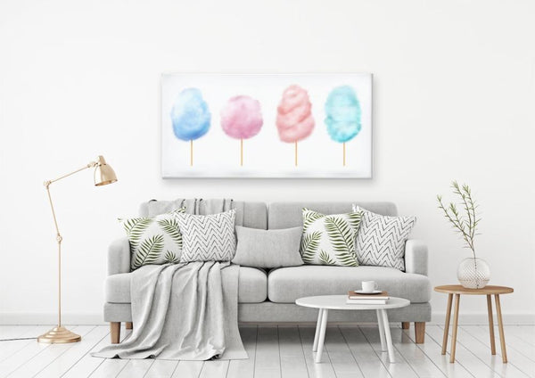 Cotton Candy Dreams - WAYFAIR CANVAS PRINTS