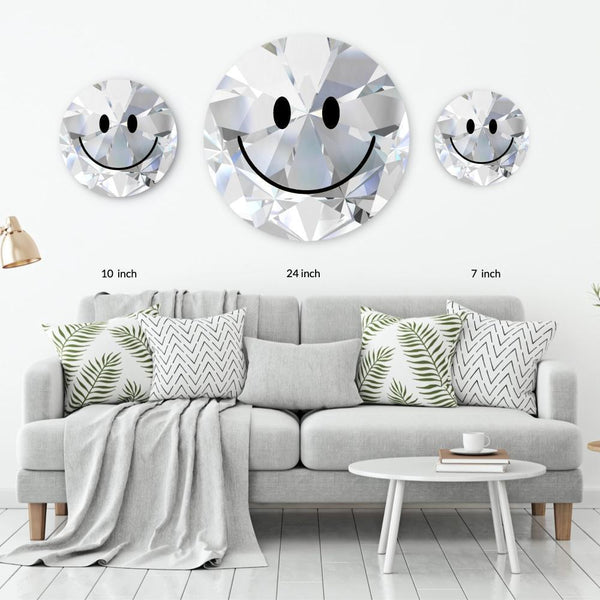 Diamond Acrylic Mountable Smilie