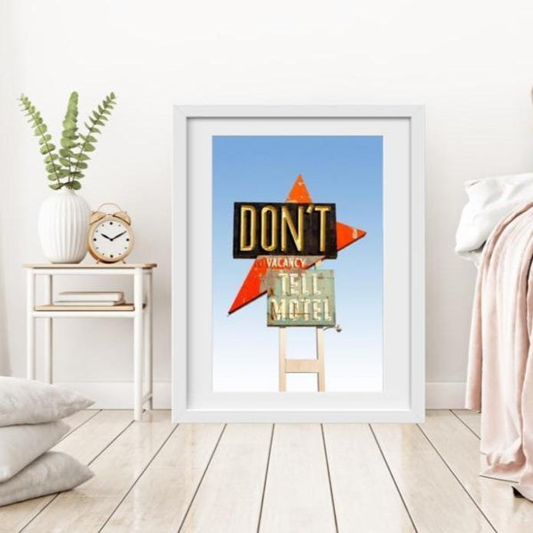 Dont Tell Motel - Limited Edition Print