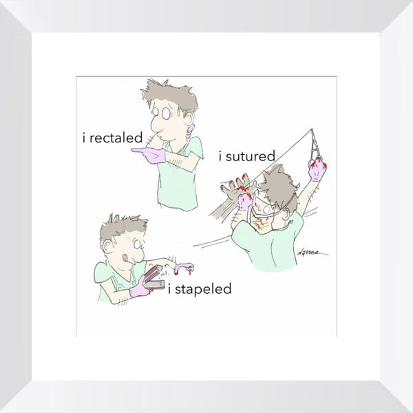 ER Firsts - Limited Edition Print