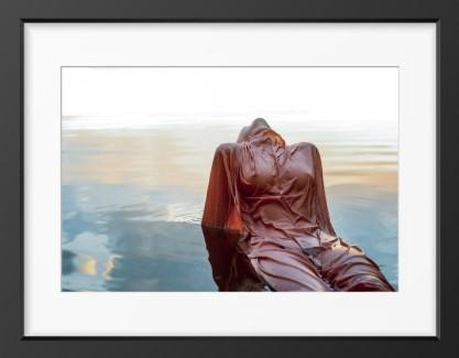 Femininity (Wet Textures) - 14x16 / Black Frame / Buy - Limited Edition Print