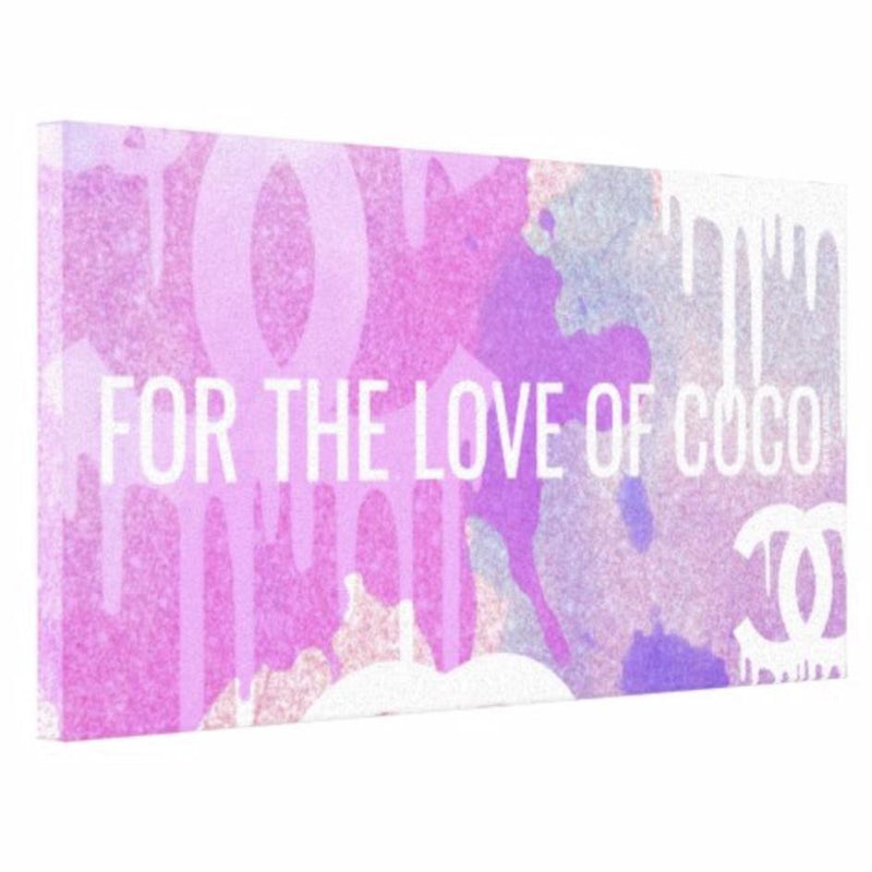 For The Love of Coco Canvas - Canvas