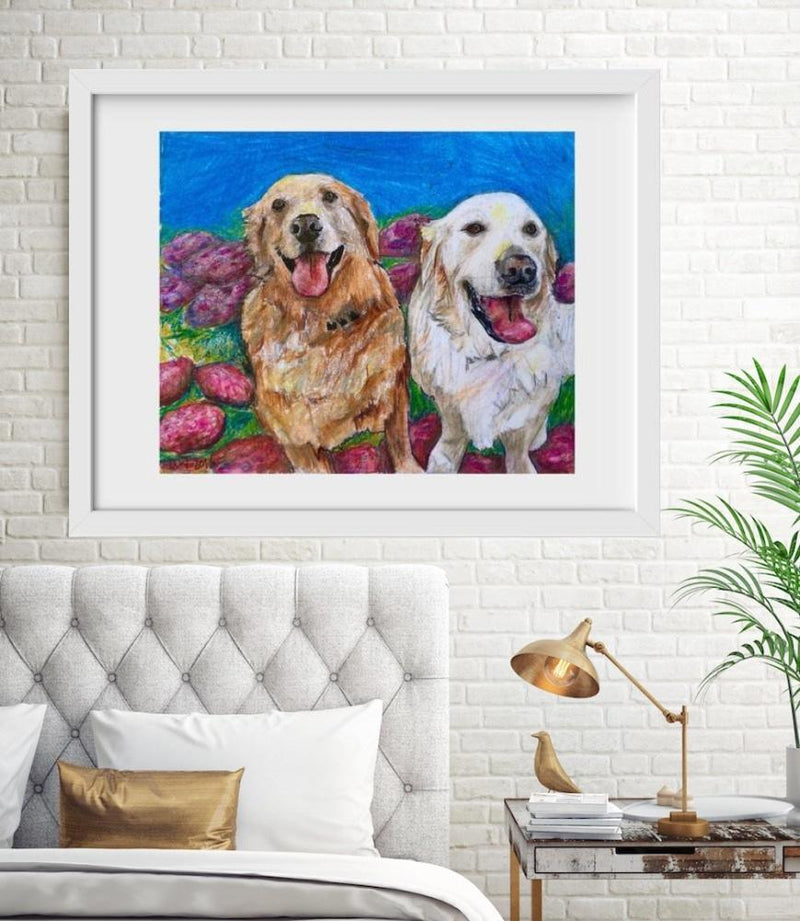Goldens - Limited Edition Print