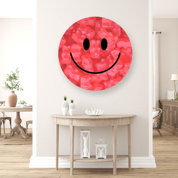 Gummy Smilie Pink - Acrylic Mountable Shapes