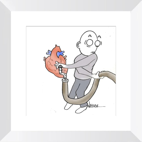 Heart Pump Sepsis - Limited Edition Print