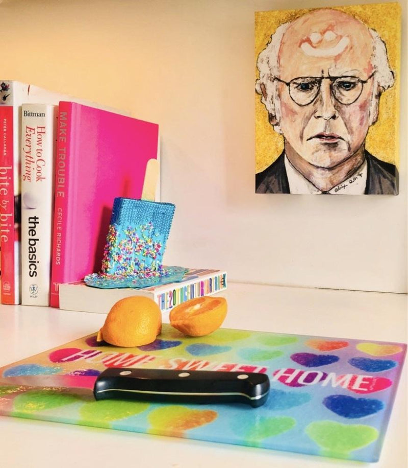 Larry David on Canvas - Canvas