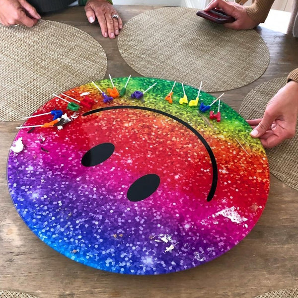 Lazy Smilie (A Lazy Susan)