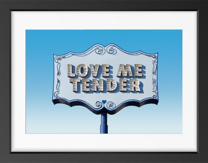 Love Me Tender - 22x26 / Black Frame / Buy - Limited Edition Print