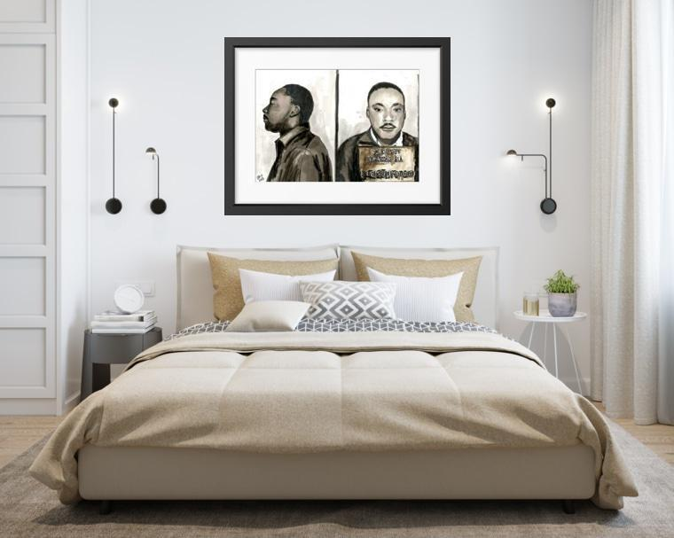 Martin Luther King Jr. - Limited Edition Print