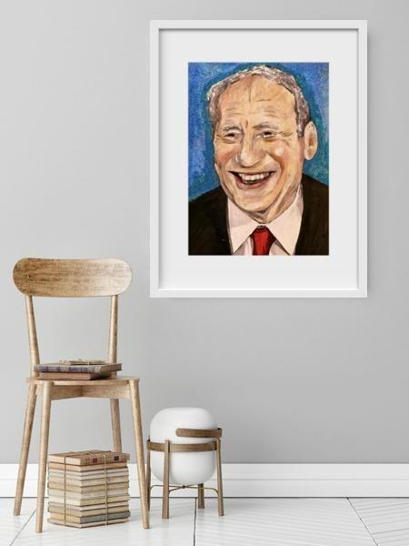 Mel Brooks - Limited Edition Print