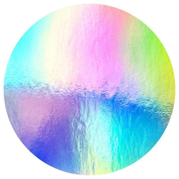 Mirror Rainbow Horizon Acrylic Mountable Round - 24 inches - Acrylic Rounds