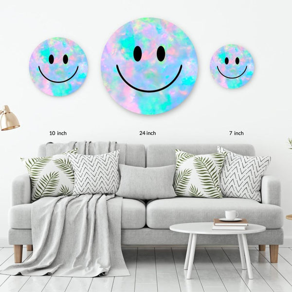 Opal Acrylic Mountable Smilie