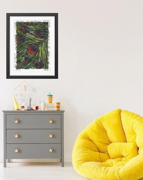 Peacock Feather - Limited Edition Print