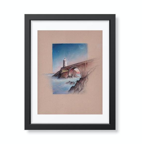 Phare du Petit Minou Brest France - Limited Edition Print